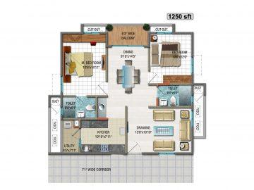 Unit-plan-10-1250ESft