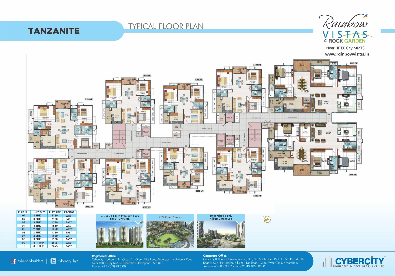Tanzanite Floor Plan - Revised 2